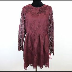 Lace purple dress from target